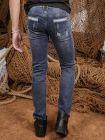 Quần Jean Skinny Xanh Dương Đậm QJ1362