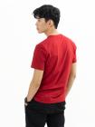 Áo Thun Trơn Căn Bản Form Slimfit AT018 Màu Đỏ