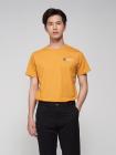Áo Thun Ngực In Chữ AT024 Màu Vàng