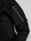 Áo Khoác Dù Tay Phối Túi AK008 Màu Đen
