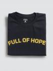 Áo Thun In Full Off Hope Màu Đen AT048
