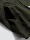 Áo Khoác Kaki Basic Màu Rêu AK018