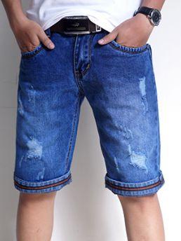 quan short jeans xanh duong qs24