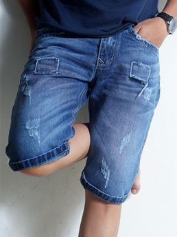 quan short jean xanh den qs37