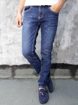quan jean skinny xanh den qj1288