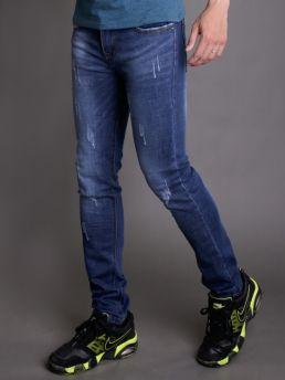quan jean skinny xanh duong qj1343