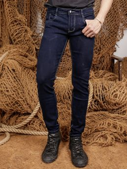 quan jean skinny xanh den qj1355