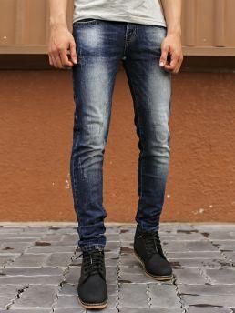 quan jean skinny xanh den qj1392