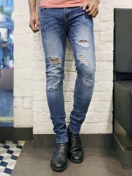 quan jean skinny xanh qj1385