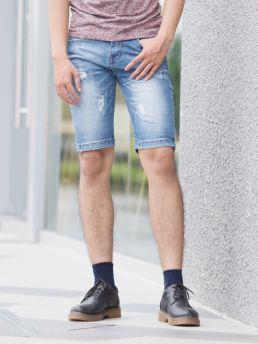 quan short jean xanh duong qs83