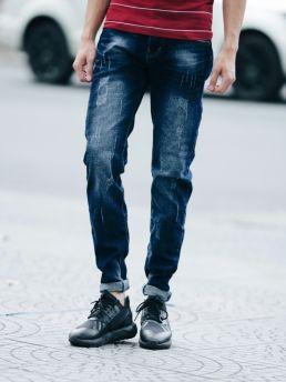 quan jean skinny xanh den qj1409