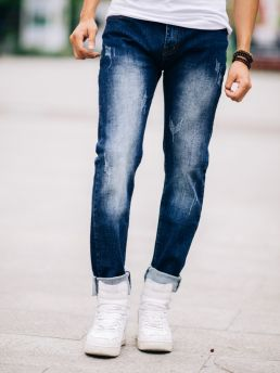 quan jean skinny xanh den qj1429