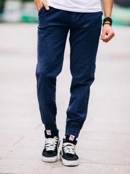 quan jogger kaki xanh den j05