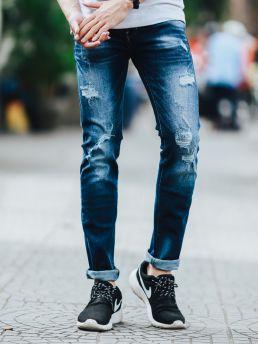 quan jean xanh den qj1434