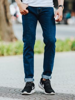 quan jean xanh den qj1436