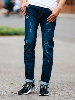 quan jean xanh den qj1461