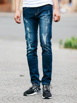 quan jean xanh den qj1472