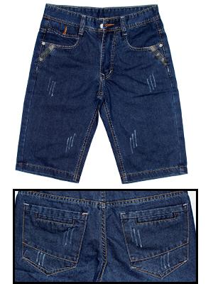 Quần Short Jeans Xanh Đen QS06