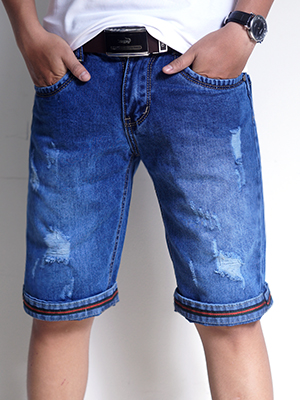 Quần Short Jeans Xanh Dương QS24