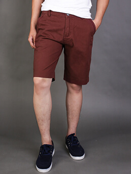 quan short kaki do nau qs72