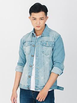 ao khoac jean xanh ak215
