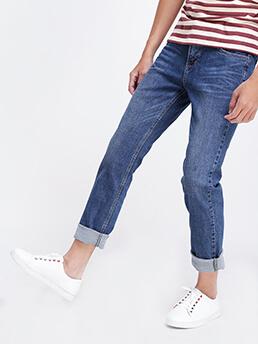quan jeans ong dung xanh duong qj1519
