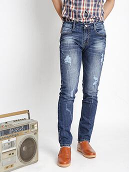 quan jeans skinny rach xanh den qj1529