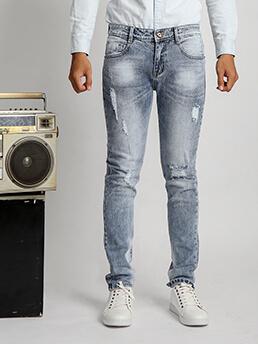 quan jeans skinny rach xanh qj1530