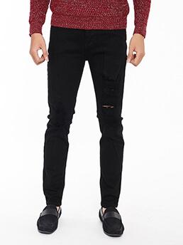quan jeans rach den qj1560
