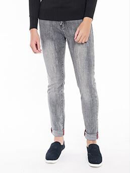 quan jeans skinny xam chuot qj1539