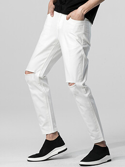 quan jeans rach trang qj1395