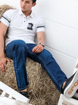 quan jeans ong dung xanh qj1596