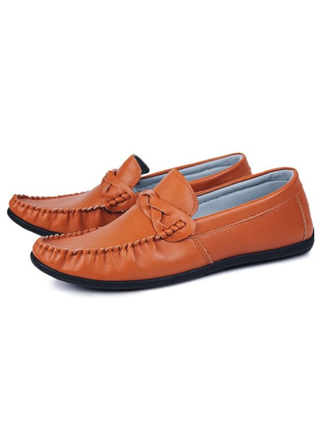 Giày Mọi Màu Cam G04