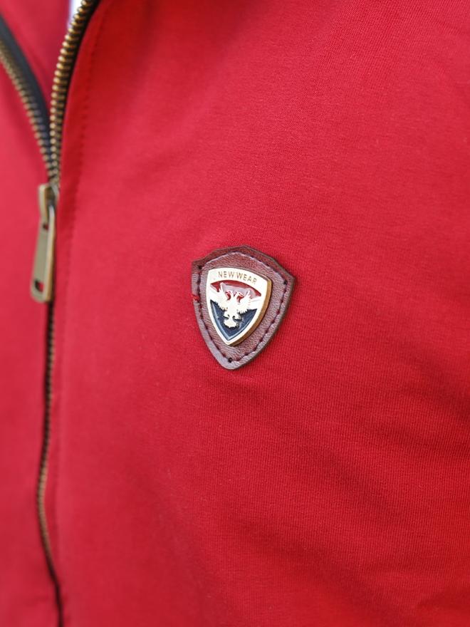 Áo Khoác Nỉ Đỏ AK176