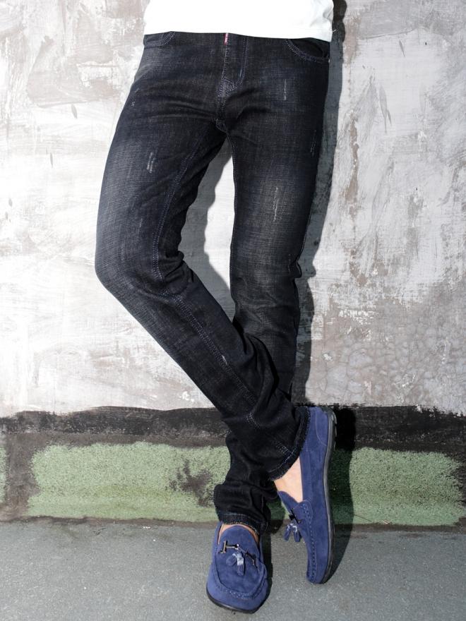 Quần Jean Skinny Đen QJ1307