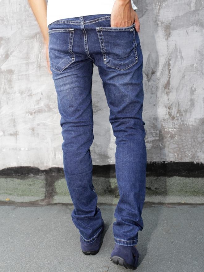 Quần Jean Skinny Xanh Đen QJ1288