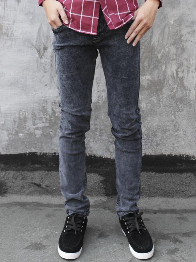 Quần Jean Skinny Xám Chuột QJ1322