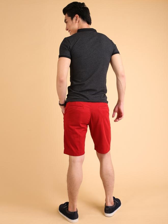 Quần Short Kaki Đỏ QS72