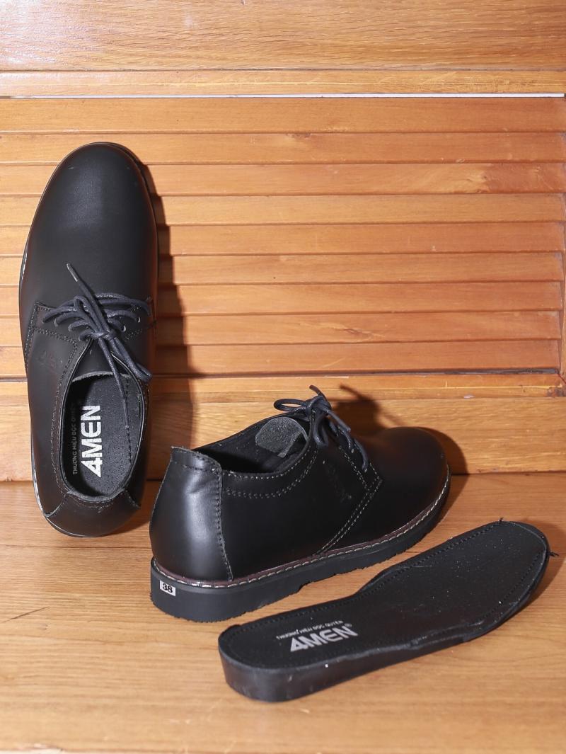 Giày Boot Tăng Chiều Cao Đen G130