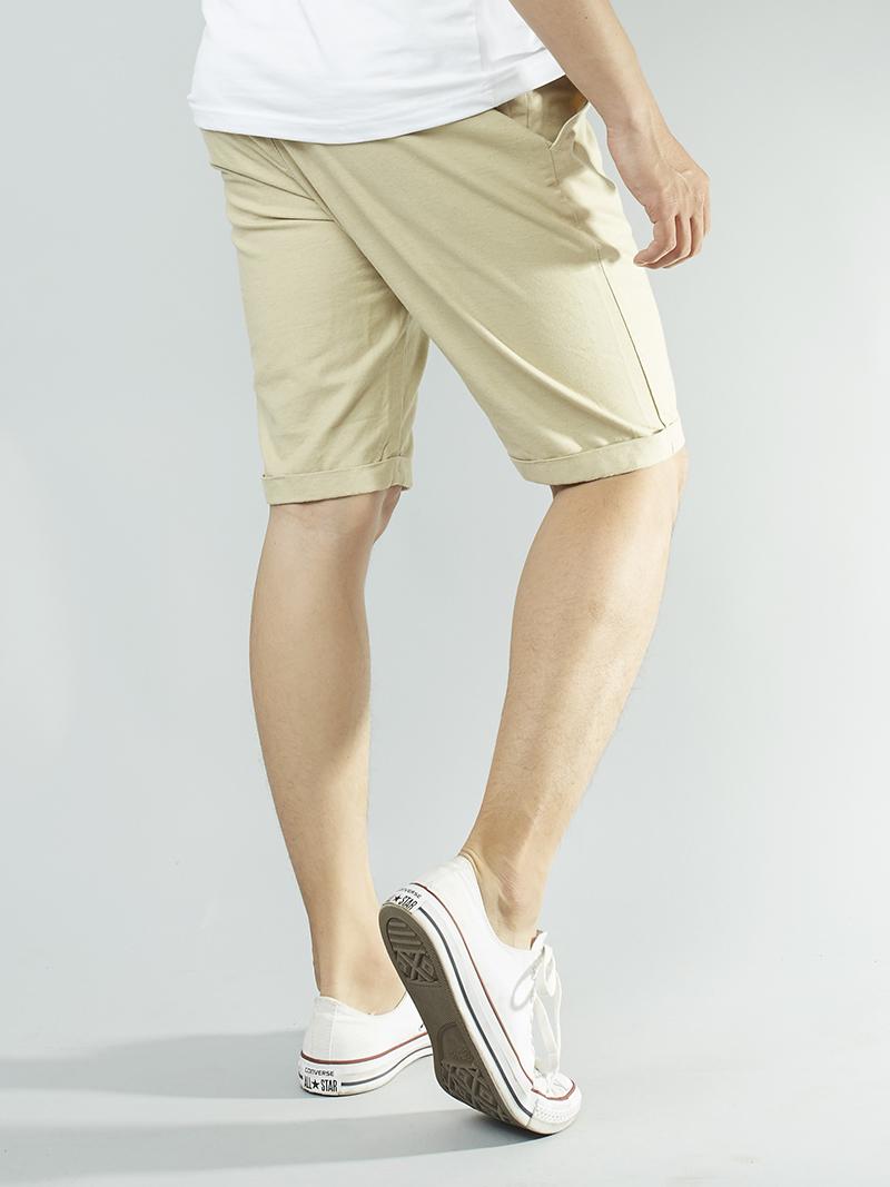 Quần Short Kaki Kem QS101