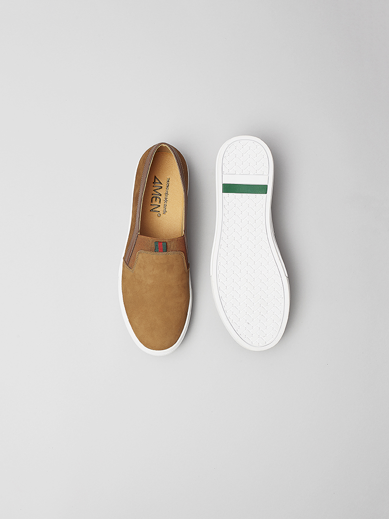 Giày Mọi Màu Bò G134