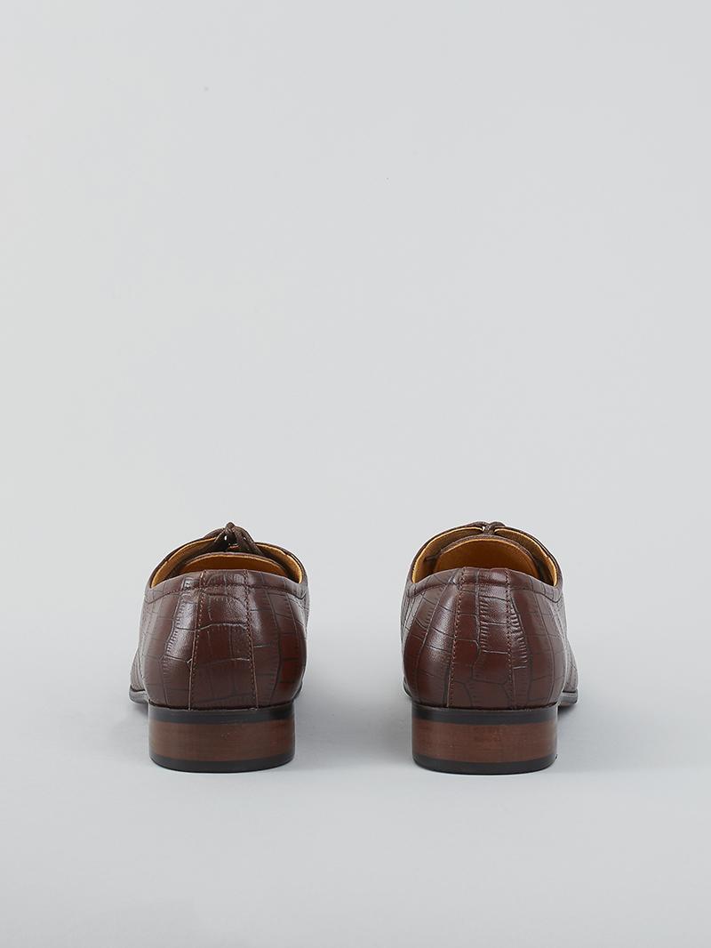 Giày Tây Da Nâu G93