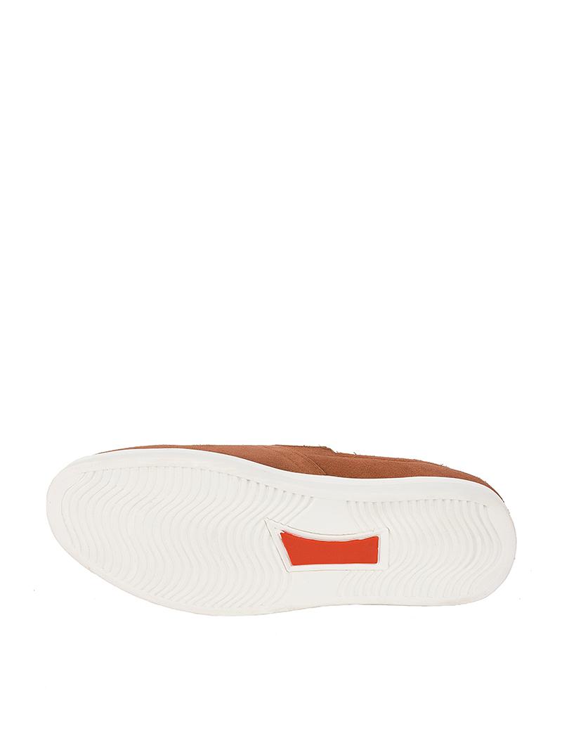 Giày Mọi Màu Bò Đậm G165