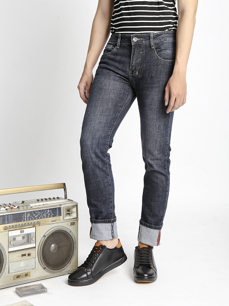 Quần Jeans Skinny Xanh Đen QJ1525