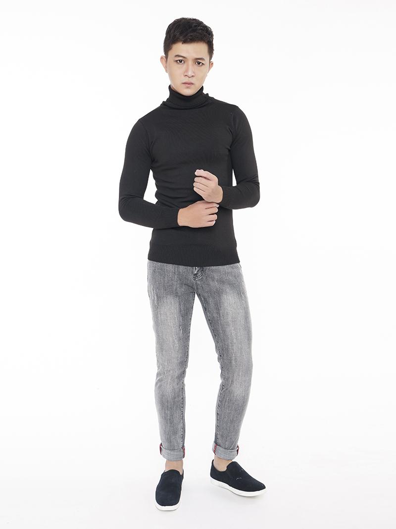 Quần Jeans Skinny Xám Chuột QJ1539