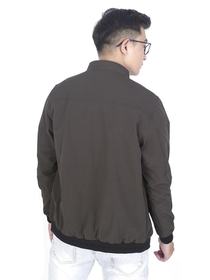Áo Khoác Kaki Màu Rêu AK243