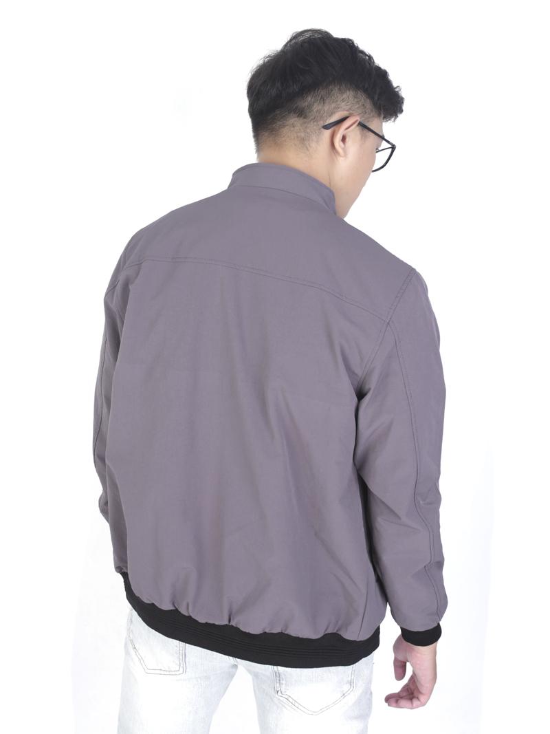 Áo Khoác Kaki Xám Chuột AK243