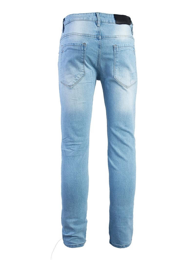 Quần Jeans Rách Xanh QJ1575