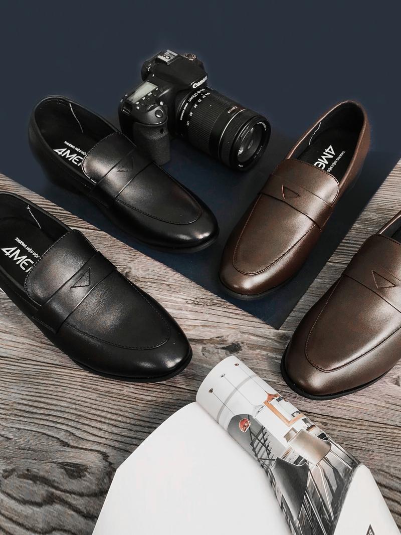 Giày Tăng Chiều Cao Nâu G181