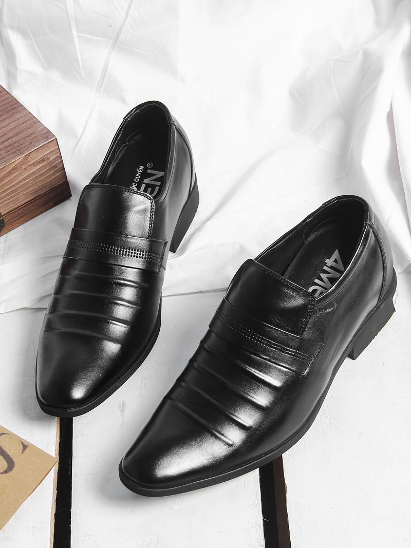Giày Tăng Chiều Cao Đen G199